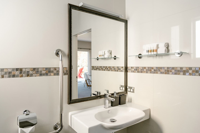 Flaxmill Accessible House Bathroom Basin