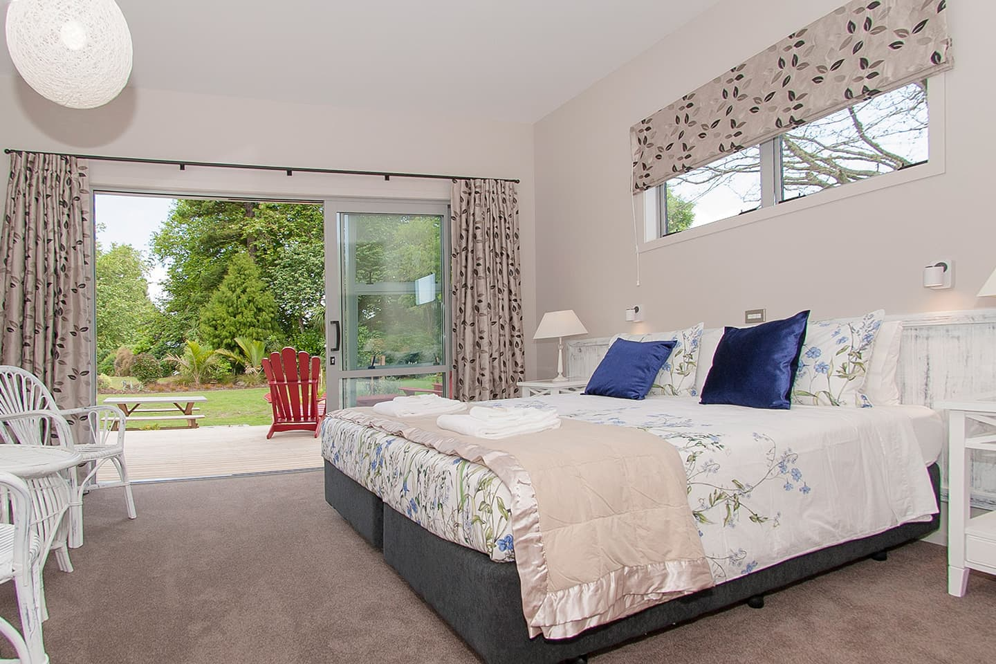 Flaxmill Accessible House Master Bedroom