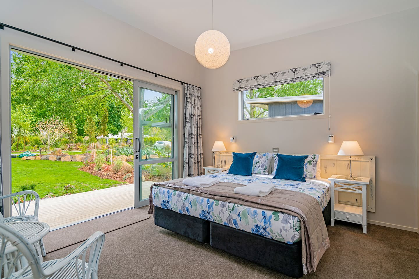 Flaxmill Bay Holiday House Master Bedroom