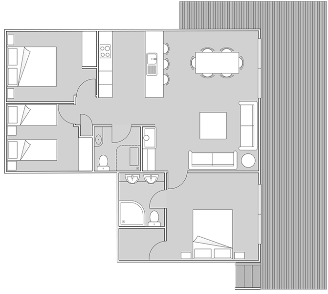 Flaxmill Accessible House Plan