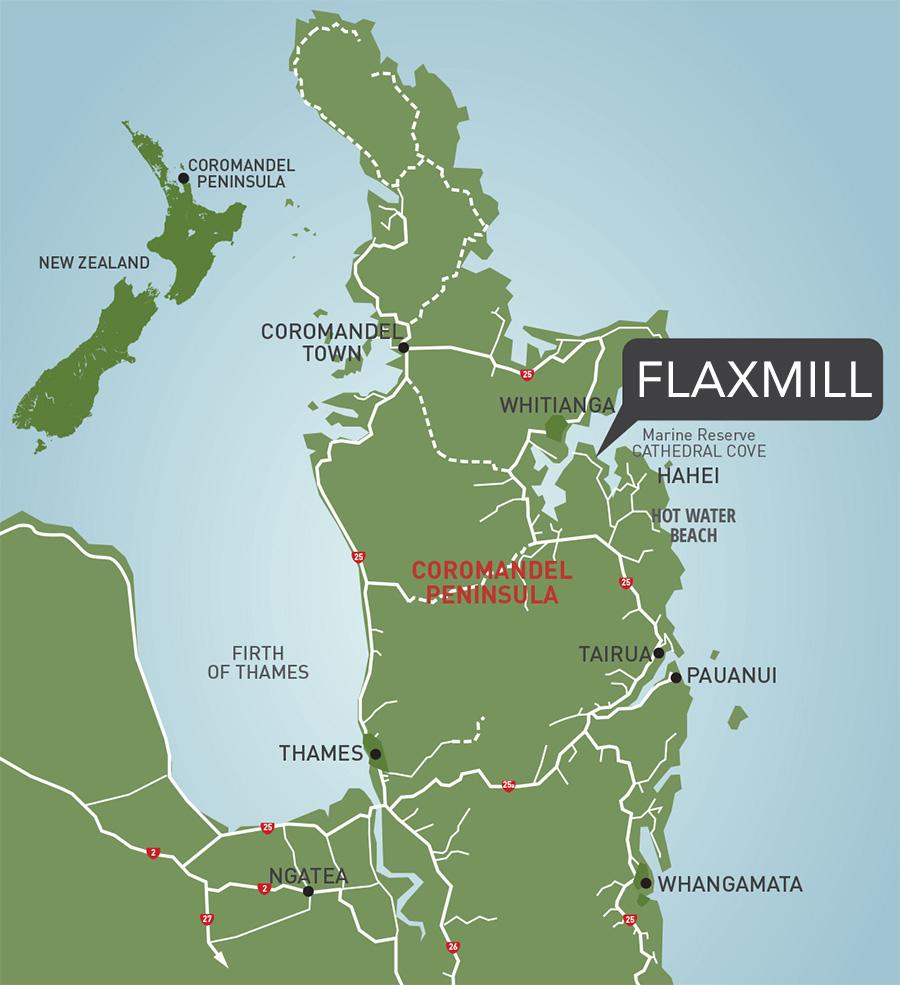 Flaxmill Location Map