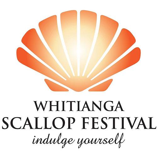 Whitianga Scallop Festival Logo