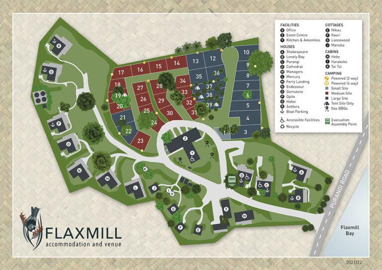 Flaxmill Site Plan 2021-2022
